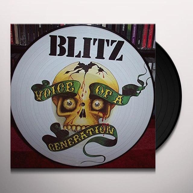 Blitz VOICE OF A GENERATION Vinyl Record
