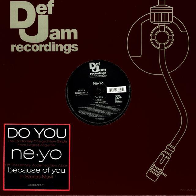 Ne-Yo DO YOU (X2) & AIN'T THINKING ABOUT YOU (X2) Vinyl Record