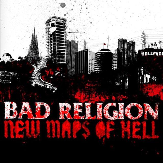 Bad Religion NEW MAPS OF HELL Vinyl Record