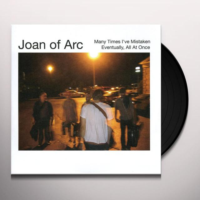 Joan Of Arc MANY TIMES I'VE MISTAKEN Vinyl Record