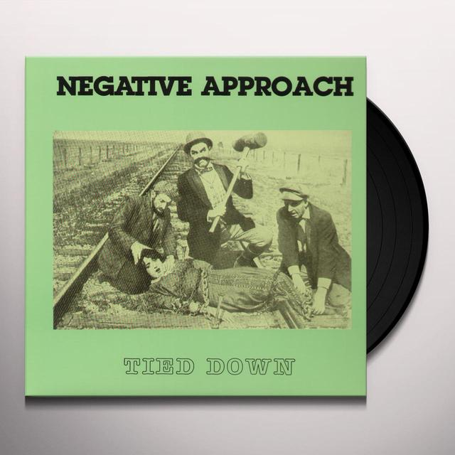 Negative Approach TIED DOWN Vinyl Record - Reissue