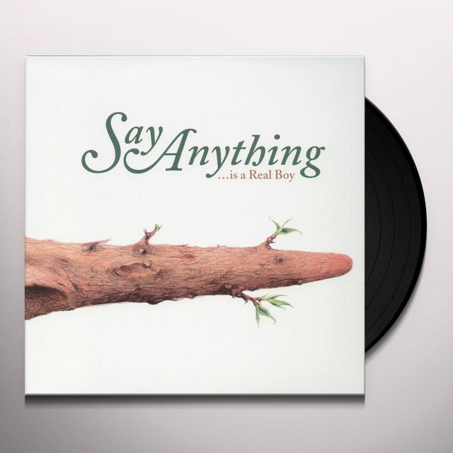 Say Anything IS AREAL BOY Vinyl Record