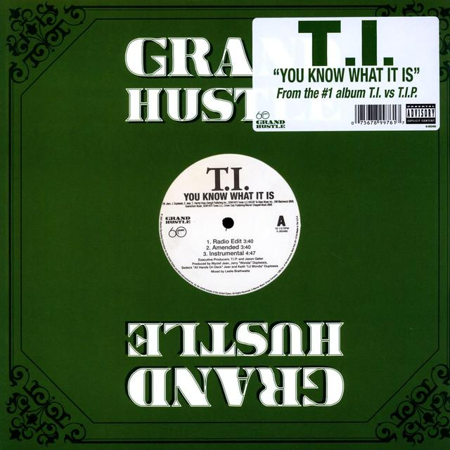 T.I. YOU KNOW WHAT IT IS (Vinyl)