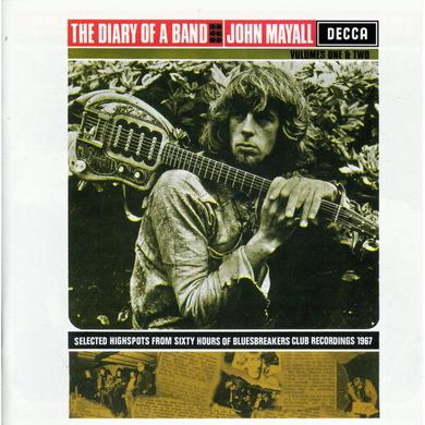 John Mayall & The Bluesbreakers DIARY OF A BAND 1 & 2 CD