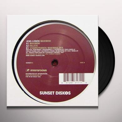 Jens Loden MAXIMINI Vinyl Record