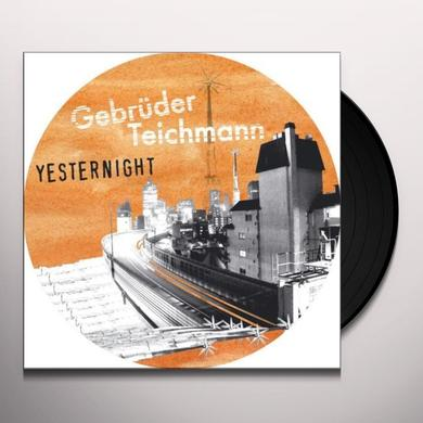 Gerruder Teichmann YESTERNIGHT Vinyl Record