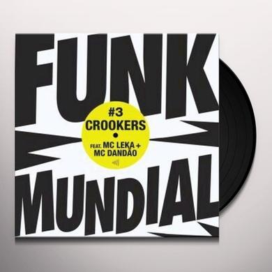 Crookers DUNK MUNDIAL 3 Vinyl Record