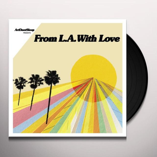 FROM LA WITH LOVE: ART DON'T SLEEP / VARIOUS Vinyl Record