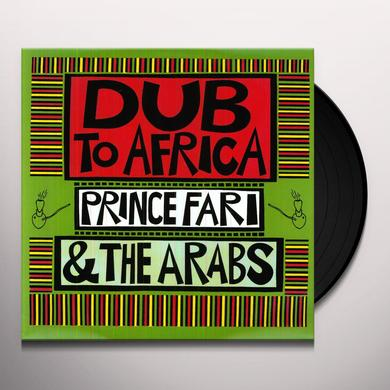 Prince Far I & The Arabs DUB TO AFRICA Vinyl Record