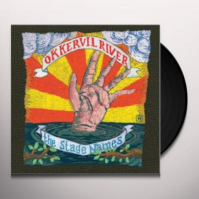 Okkervil River STAGE NAMES Vinyl Record
