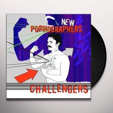 The New Pornographers CHALLENGER Vinyl Record