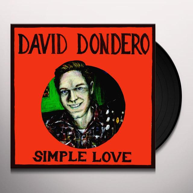 David Dondero SIMPLE LOVE Vinyl Record