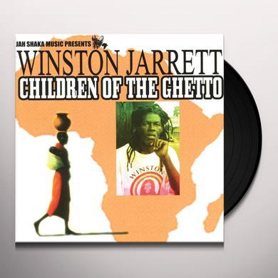 Winston Jarrett CHILDREN OF THE GHETTO Vinyl Record