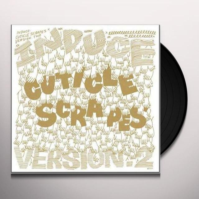 Induce CUTICLE SCRAPES (BONUS CD) Vinyl Record