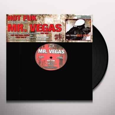 Mr. Vegas HOT FUK / LEAN WID IT Vinyl Record