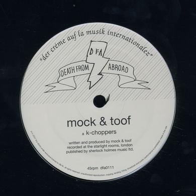 Mock & Toof K-CHOPPERS Vinyl Record