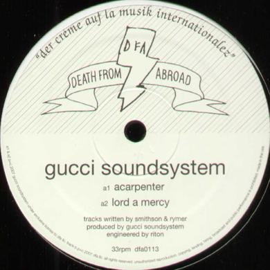 Gucci Soundsystem ACARPENTER Vinyl Record