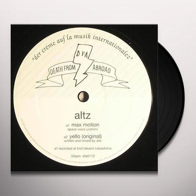 Altz MAX MOTION Vinyl Record