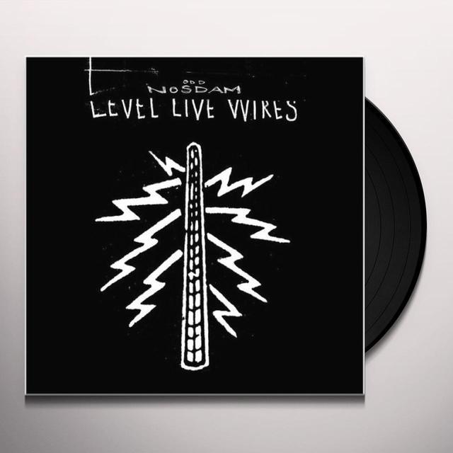 Odd Nosdam LEVEL LIVE WIRES Vinyl Record