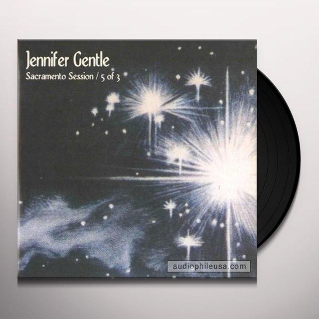 Jennifer Gentle SACRAMENTO SESSION 5 OF 3 Vinyl Record