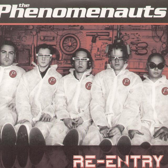 Phenomenauts RE-ENTRY Vinyl Record