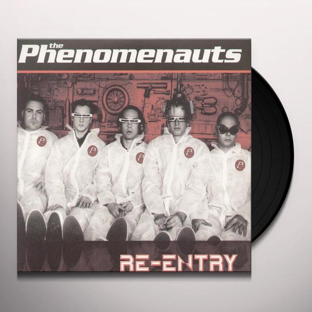 Phenomenauts RE-ENTRY Vinyl Record
