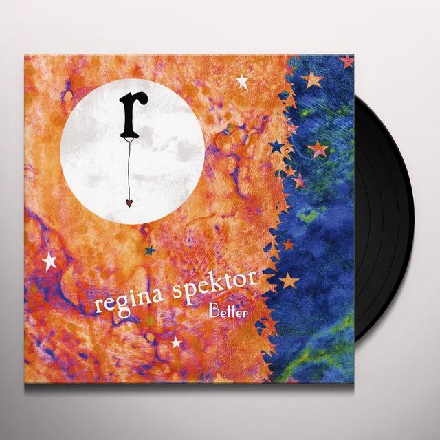 Regina Spektor BETTER (RADIO RE-CUT) / BETTER (VOCAL/PIANO) Vinyl Record
