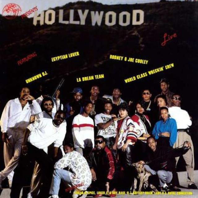 HOLLYWOOD LIVE / VARIOUS