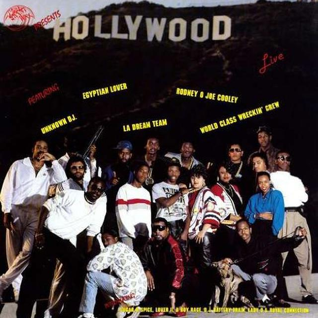 HOLLYWOOD LIVE / VARIOUS Vinyl Record