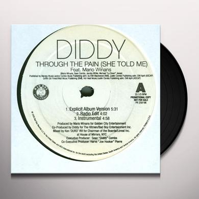 Diddy THROUGH THE PAIN: SHE TOLD ME Vinyl Record