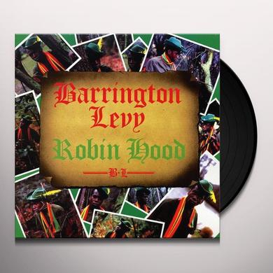 Barrington Levy ROBIN HOOD Vinyl Record