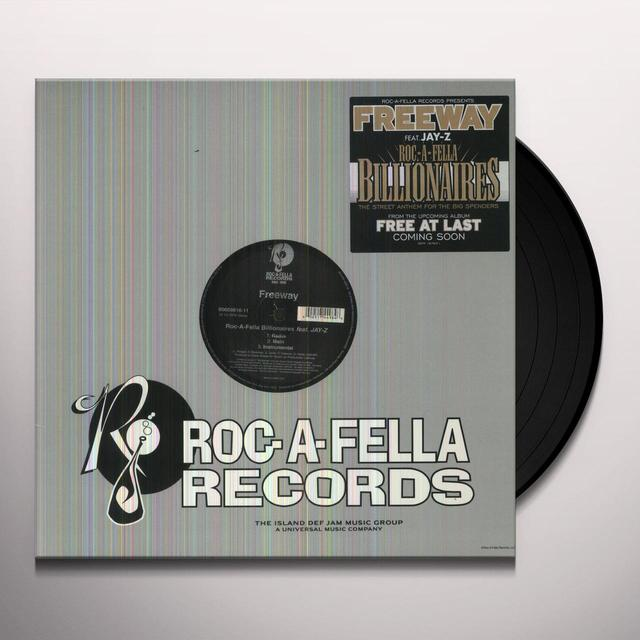 Freeway ROC-A-FELLA BILLIONAIRES (X9) Vinyl Record