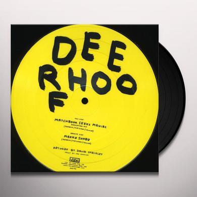Deerhoof MATCHBOOK SEEKS MANIAC Vinyl Record
