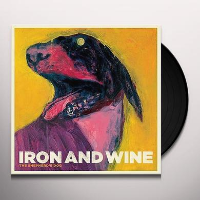 Iron & Wine SHEPHERD'S DOG Vinyl Record