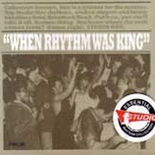 WHEN RHYTHM WAS KING / VARIOUS Vinyl Record