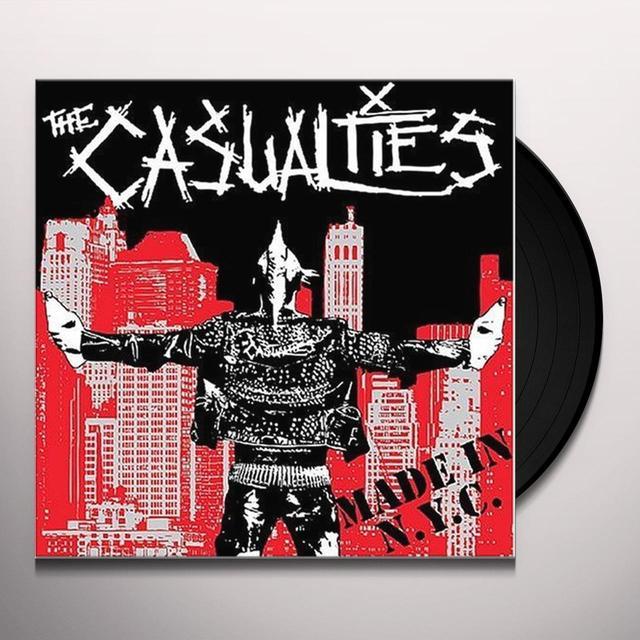The Casualties MADE IN NYC (BONUS DVD) Vinyl Record