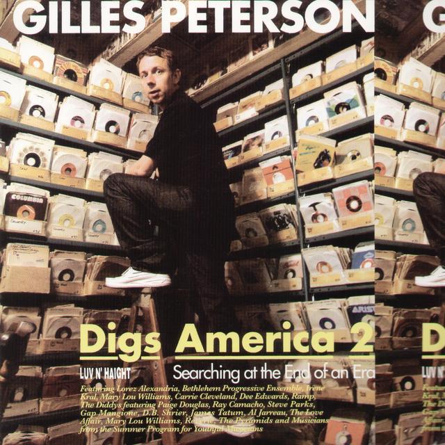 GILLES PETERSON DIGS AMERICA 2 / VARIOUS Vinyl Record