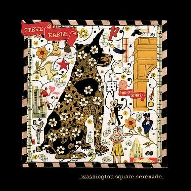 Steve Earle WASHINGTON SQUARE SERENADE Vinyl Record