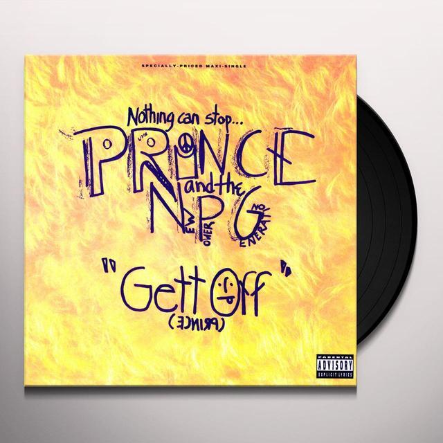Prince GET OFF (X3) / VIOLET ORGAN GRINDER / GANGSTER Vinyl Record