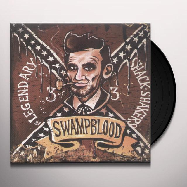 The Legendary Shack Shakers SWAMPBLOOD Vinyl Record - Limited Edition