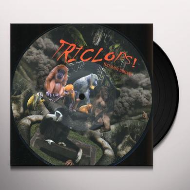 Triclops TOO MANY HUMANS Vinyl Record