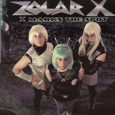 Zolar-X X MARKS THE SPOT Vinyl Record