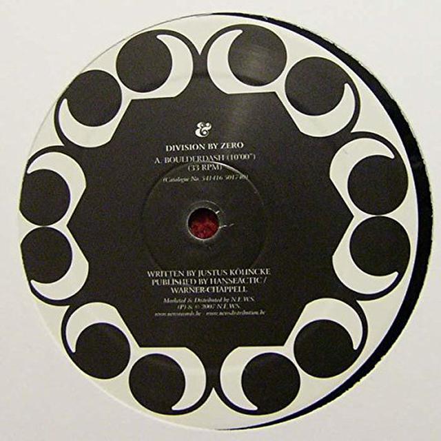 Division By Zero BOULDERDASH / BALL BLAZER Vinyl Record