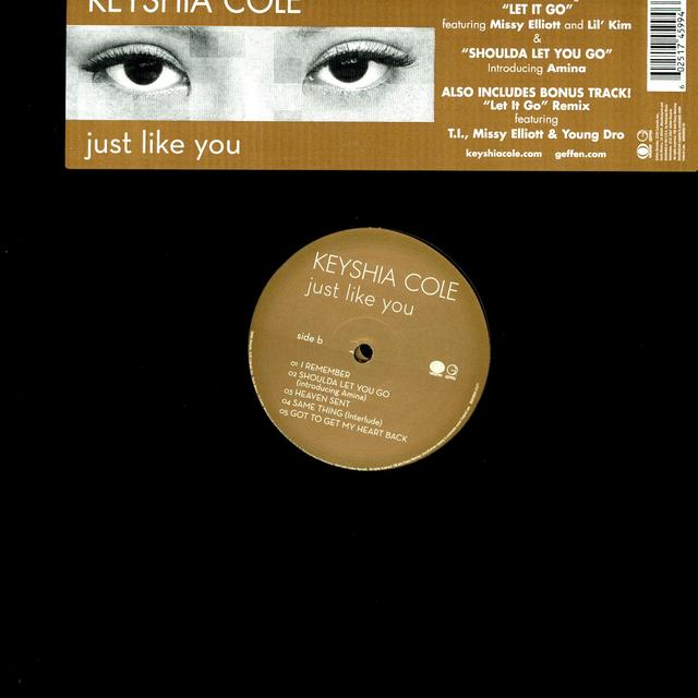 Keyshia Cole JUST LIKE YOU Vinyl Record