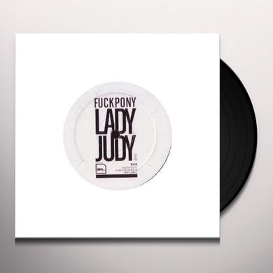 Fuckpony / Matthew Styles / James Jones LADY JUDY Vinyl Record