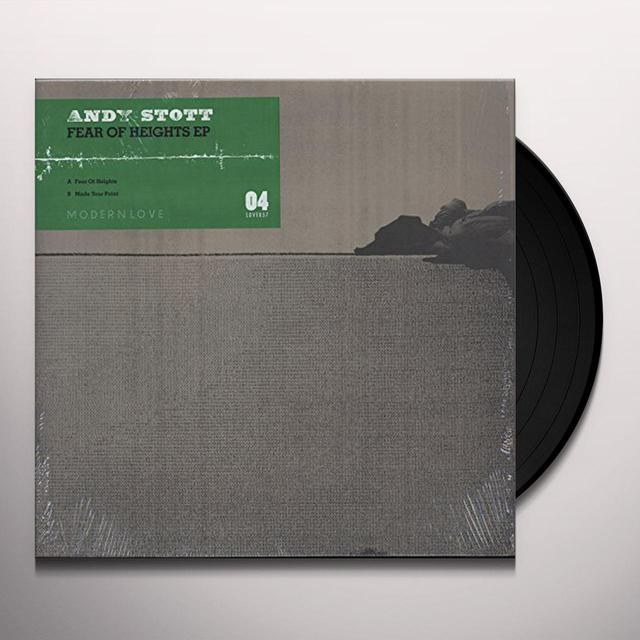 Andy Stott FEAR OF HEIGHTS Vinyl Record