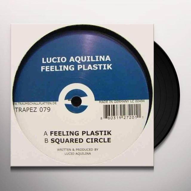 Lucio Aquilina FEELING PLASTIK (EP) Vinyl Record