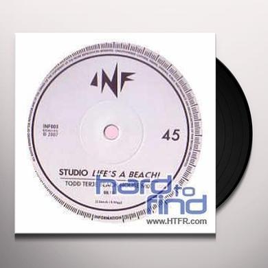 Studio LIFE'S A BEACH (EP) Vinyl Record