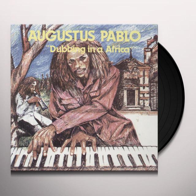 Augustus Pablo DUBBING IN AFRICA Vinyl Record