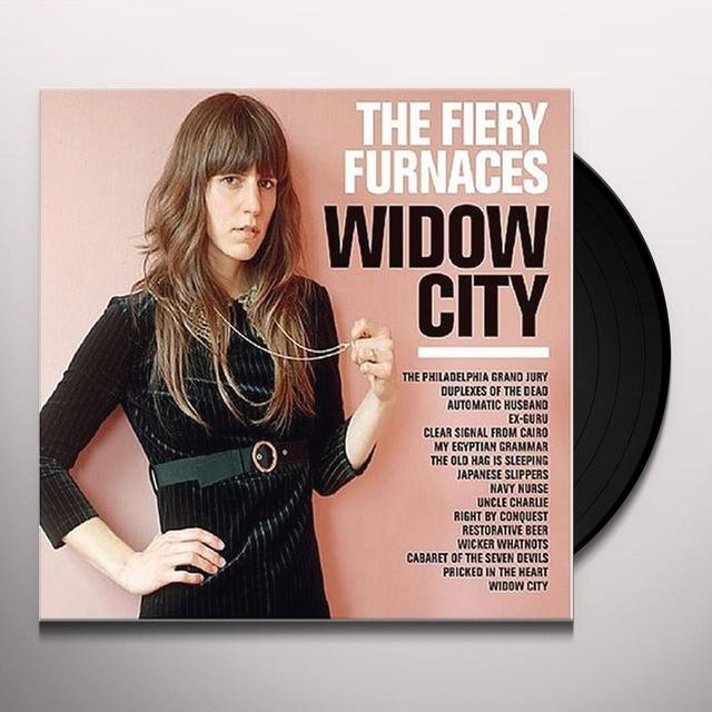 The Fiery Furnaces WIDOW CITY Vinyl Record